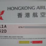 香港航空|タイまで乗り継ぎ|予約と座席指定