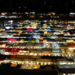 バンコクの観光スポット|初心者がめぐる|ナイトマーケット3か所と定番スポット