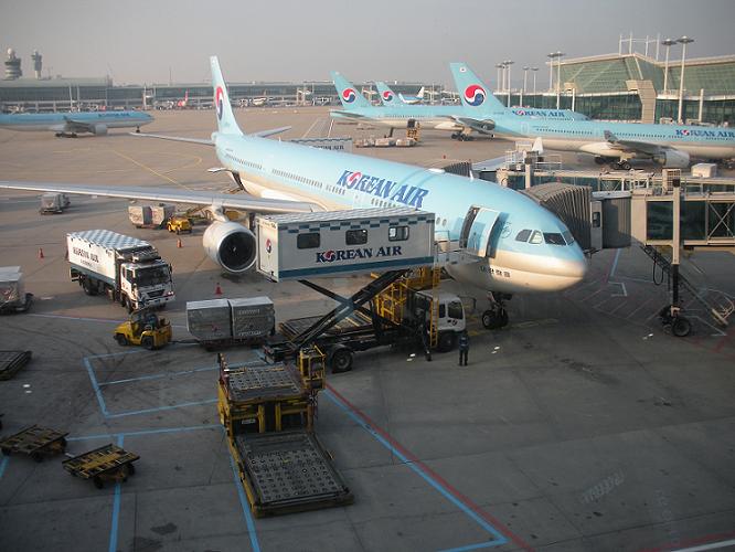大韓航空|成田からタイへ|予約と座席指定